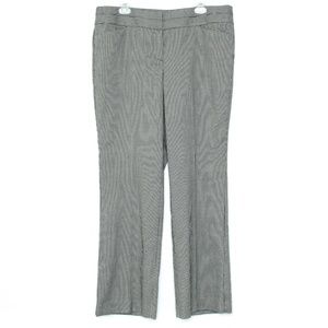 NWT Ann Taylor Loft Houndstooth Pants 14 A2